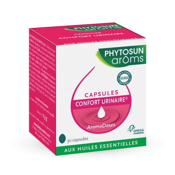 Capsules confort urinaire